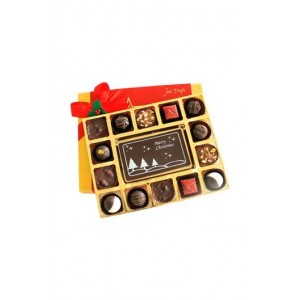 Jus' Trufs Merry Christmas With Luxury Chocolate Truffles