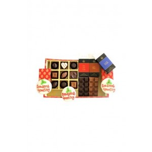 Jus' Trufs Designer Christmas And New Year Chocolate Hamper