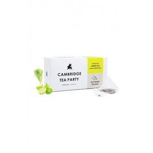 Cambridge Tea Party Lime Lemongrass Green Tea  - 20 Pyramid Tea Bags