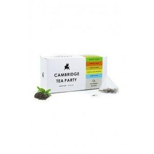 Cambridge Tea Party Assorted Green Tea - 20 Pyramid Tea Bags