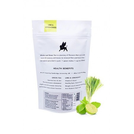 Cambridge Tea Party Lime Peel & Lemongrass Green Tea - 40G