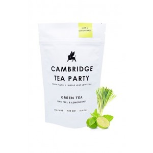 Cambridge Tea Party Lime Peel & Lemongrass Green Tea - 180G