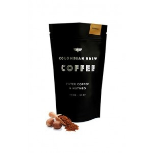 Colombian Brew Nutmeg Ground Coffee / Filter Coffee - 100G