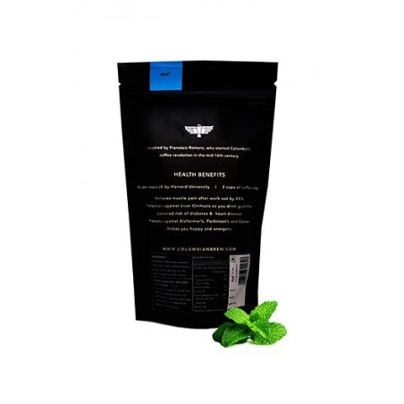 Colombian Brew Mint Ground Coffee / Filter Coffee - 100G