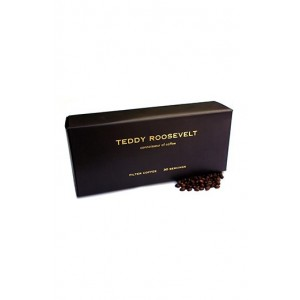 Teddy Roosevelt Luxury Ground Coffee / Filter Coffee - 30 Servings