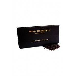 Teddy Roosevelt Luxury Instant Coffee - 30 Servings