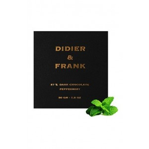 Didier & Frank 57% Dark Chocolate With Peppermint - 50G