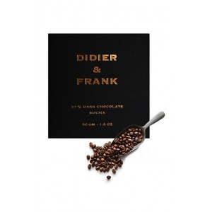Didier & Frank 57% Dark Chocolate With Mocha - 50G