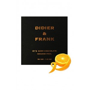 Didier & Frank 57% Dark Chocolate With Orange Zest - 50G