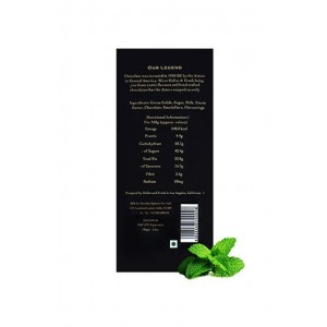 Didier & Frank 57% Dark Chocolate With Peppermint - 100G