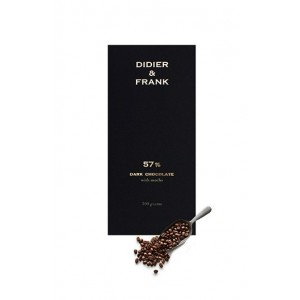 Didier & Frank 57% Dark Chocolate With Mocha - 100G