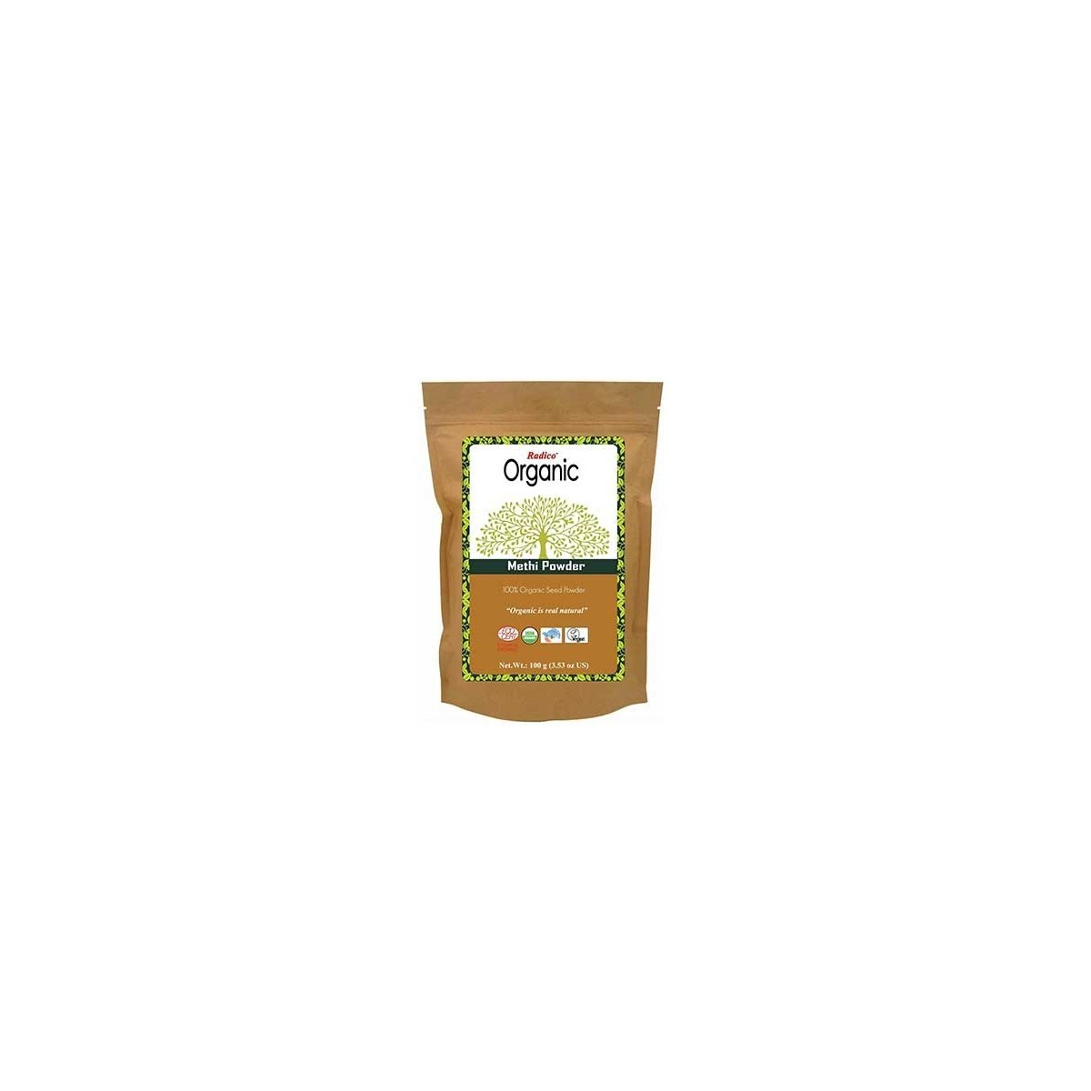 Radico Organic Methi Powder