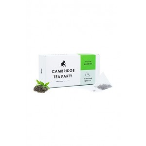 Cambridge Tea Party Green Tea - 20 Pyramid Tea Bags