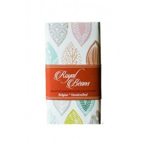 Royal Beans - Roasted Almond & 70% Dark Chocolate Bar