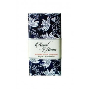 Royal Beans - Blueberry & 70% Dark Chocolate Bar