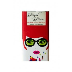 Royal Beans - Cranberry & 70% Dark Chocolate Bar