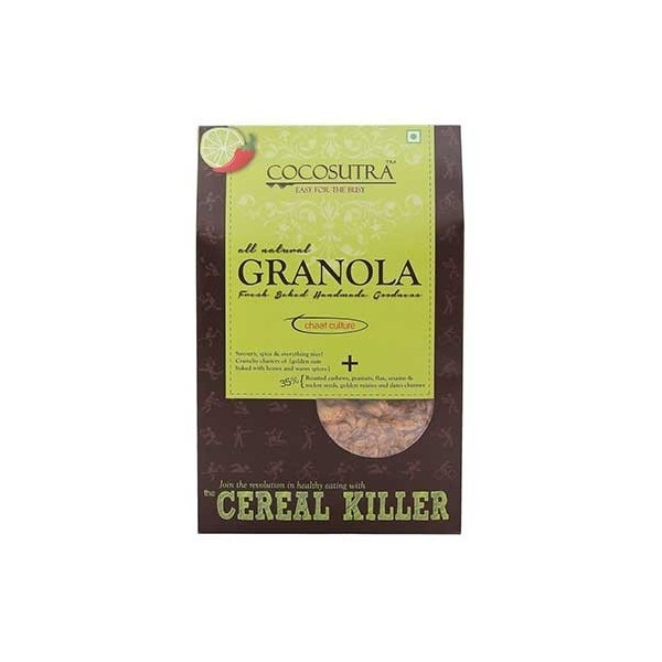 Cocosutra Chaat Culture Granola 300 gm