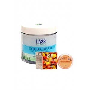 Lass Naturals Cold Cream with Lip Balm