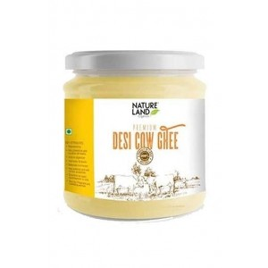 Natureland Organics Premium Cow Ghee 400Ml
