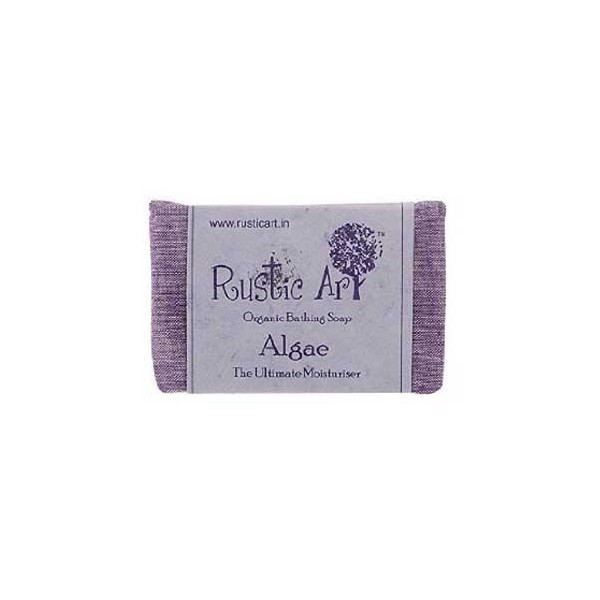 Rustic Art - Organic Algae Soap For Moisturizer