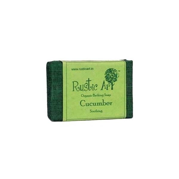 Rustic Art - Organic Cucumber Soap For Soothing