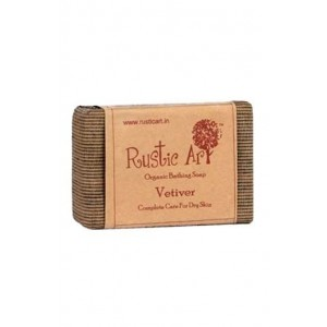 Rustic Art - Organic Vetiver Soap