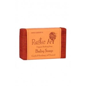Rustic Art - Ph Neutral Organic Baby Soap