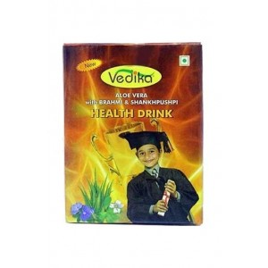 Vedika Aloe Vera Herbal Brain Tonic For Kids (With Brahmi -Shankhpushpi)