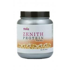 Zenith Nutrition Protein Pure Soy - Vegan Source Of Protein- For Healthy Cholesterol