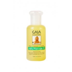 Gaia Baby Massage Oil 125ml