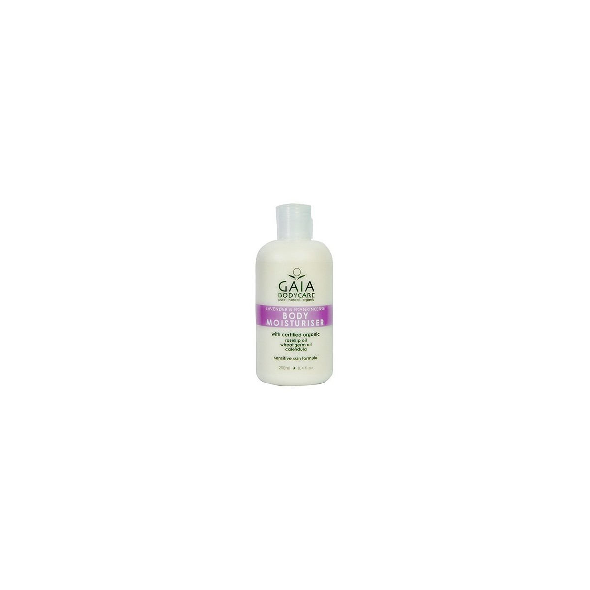 Gaia Body Care Body Moisturiser Lavender & Frankincense 250ml