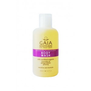 Gaia Body Care Body Wash Lavender & Frankincense 250ml
