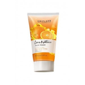 Oriflame Love Nature Face Wash Orange