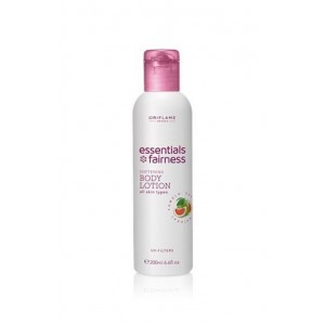 Oriflame  Essentials Fairness Softening Body Lotion UV Filters