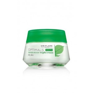 Oriflame Optimals White  Oxygen Boost Night Cream Oily Skin