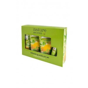 Oriflame Nature Secrets Refreshing Pedicure Set Nettle & Lemon