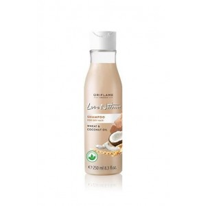 Oriflame Love Nature Shampoo for Dry Hair Wheat & Coconut Nut Oil