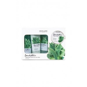Oriflame Love Nature Facial Kit Tea Tree