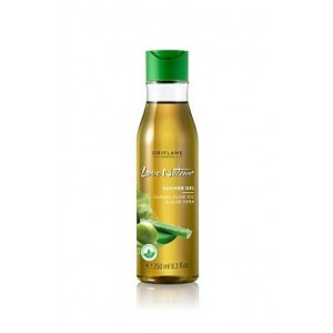 Oriflame Love Nature Shower Gel Caring Olive Oil & Aloe Vera