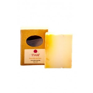 Tvam Almond Saffron and Goats Milk - Handmade Soap