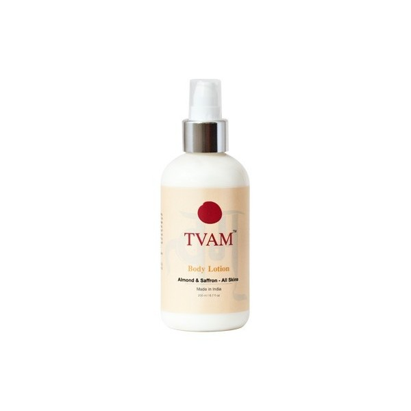 Tvam Almond and Saffron Body Lotion 200ml