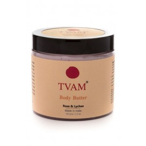 Tvam Rose and Litchi Body Butter