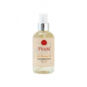 Tvam Lemon Grapefruit and Fennel Body Massage Oil
