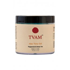 Tvam Peppermint & Green Tea Aloe Vera Gel