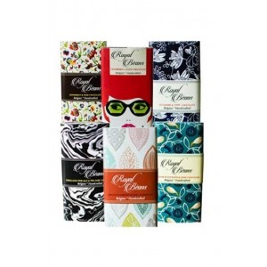 Royal Beans  Artisan Dark Chocolate Bars Celebration Pack