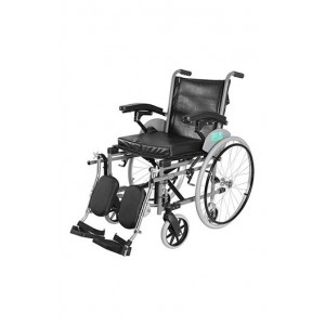 Vissco Imperio heavy duty adult wheelchair with elevated foot rest