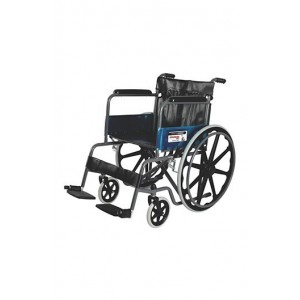Vissco Rodeo modified black magic wheelchair with mac wheel