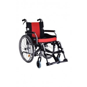 Vissco Superio AL Wheelchair with removable big wheels