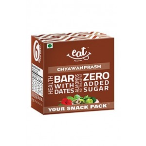 Eat Anytime Healthy Chyawanprash Energy Bar - Pack of 6 (Front)
