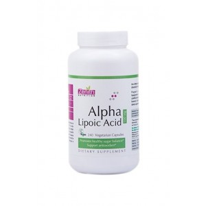 Zenith Nutrition Alpha Lipoic Acid 100Mg - 240 Capsules